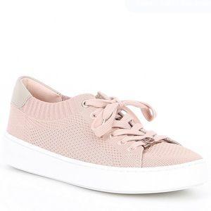 Michael Kors Blush Pink Mesh Sneakers